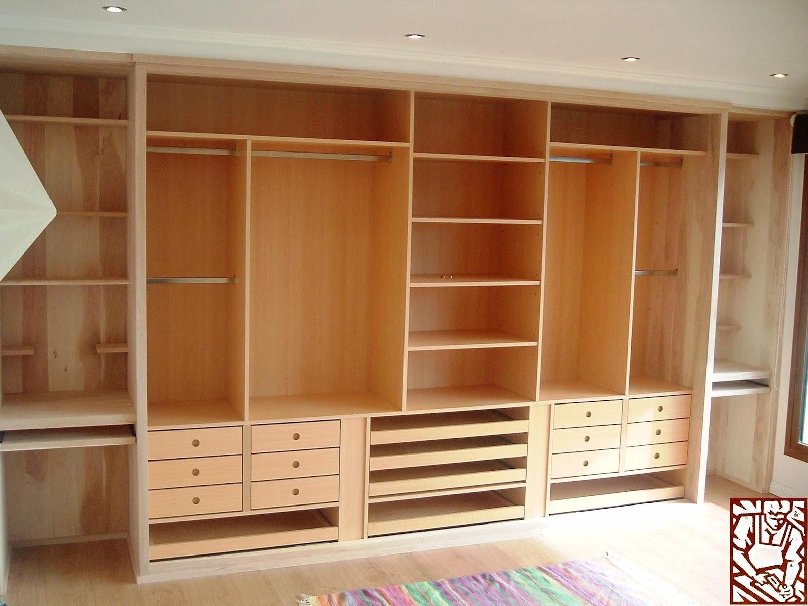 Carpinteriaparaver vestidores y placares for Placares cocina