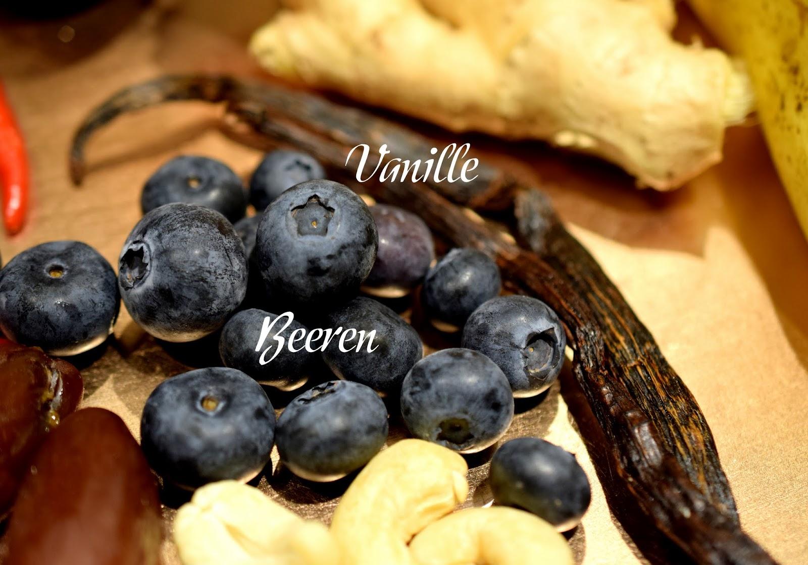 Top 10 Mood Foods Vanille Beeren