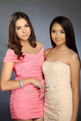 Julia Montes and Kathryn Bernardo