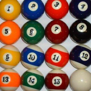 Mini+Pool+Balls+Set