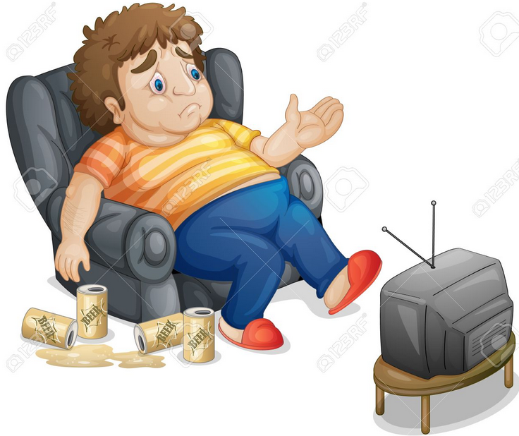 clipart boy watching tv - photo #35