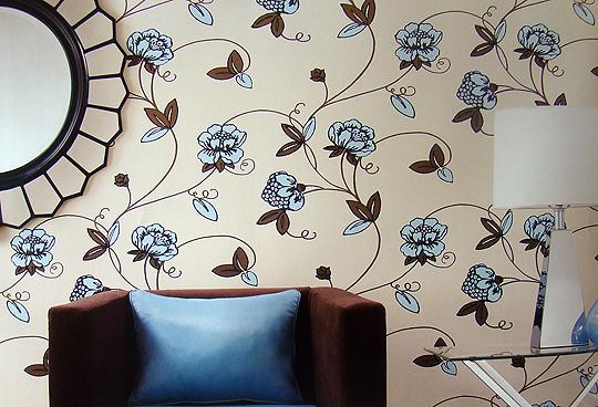 papel de parede decoracao de interiores:para inspirar na hora de escolher o padrão do tecido e deixar sua