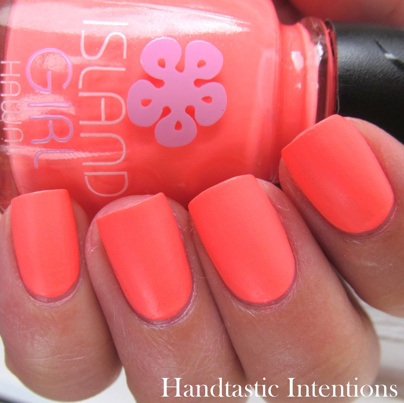 Handtastic Intentions: Swatch and Review of Island Girl Trio
