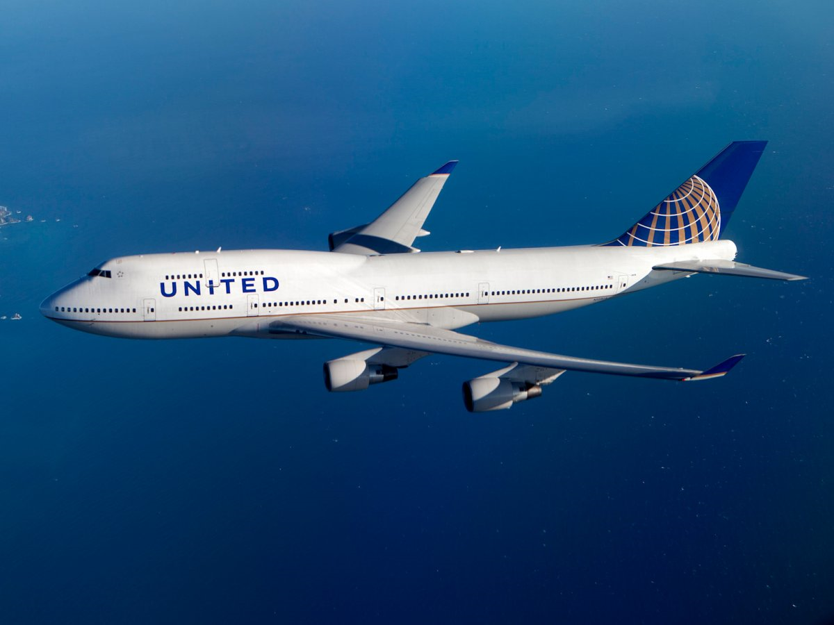 United Airlines ends 747-400 flights
