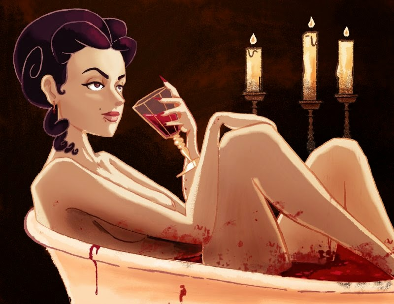 Elizabeth Bathory Blood Bath