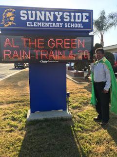 """""""Al the Green Rain Train"""" and GOOGLE"""
