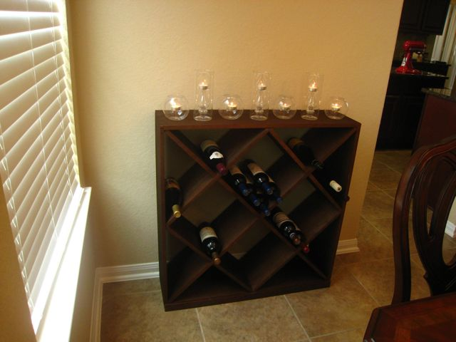 We Looked At Some Other Options For Wine Storage From Stores Like Ballard Designs And Pottery Barn But Really Needed Something That Wasnt Too Deep So