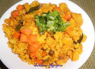 Image of Potato Poha / Aloo Poha - Quick Breakfast