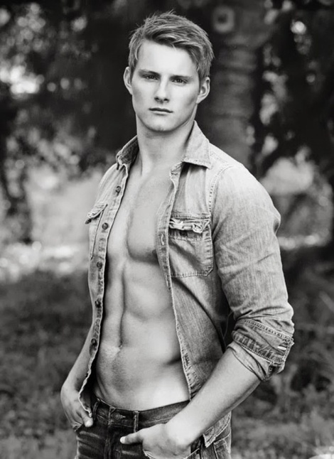Alexander Ludwig by Bruce Weber shirtless portrait