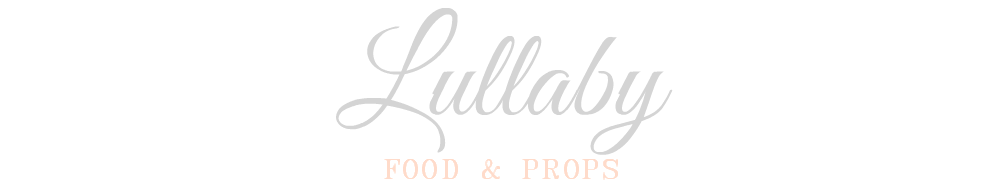 LULLABY FOOD&PROPS