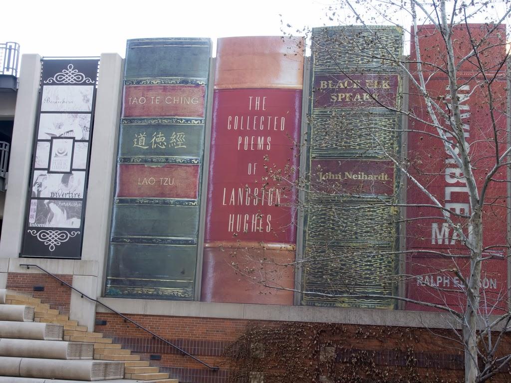 Giant Bookshelf of Kansas City Library USA