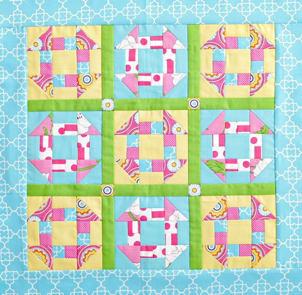 Quilt Inspiration: Free Pattern Day: Easter and Spring Quilts