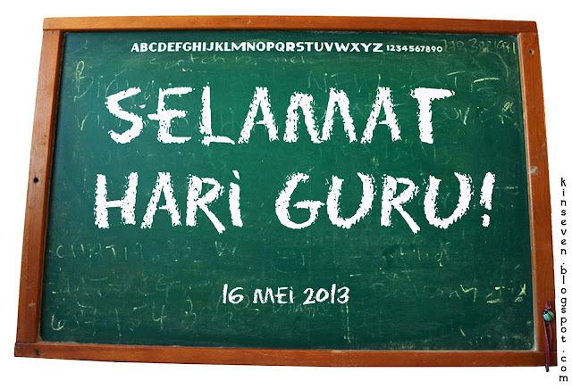 selamat hari guru, happy teacher's day