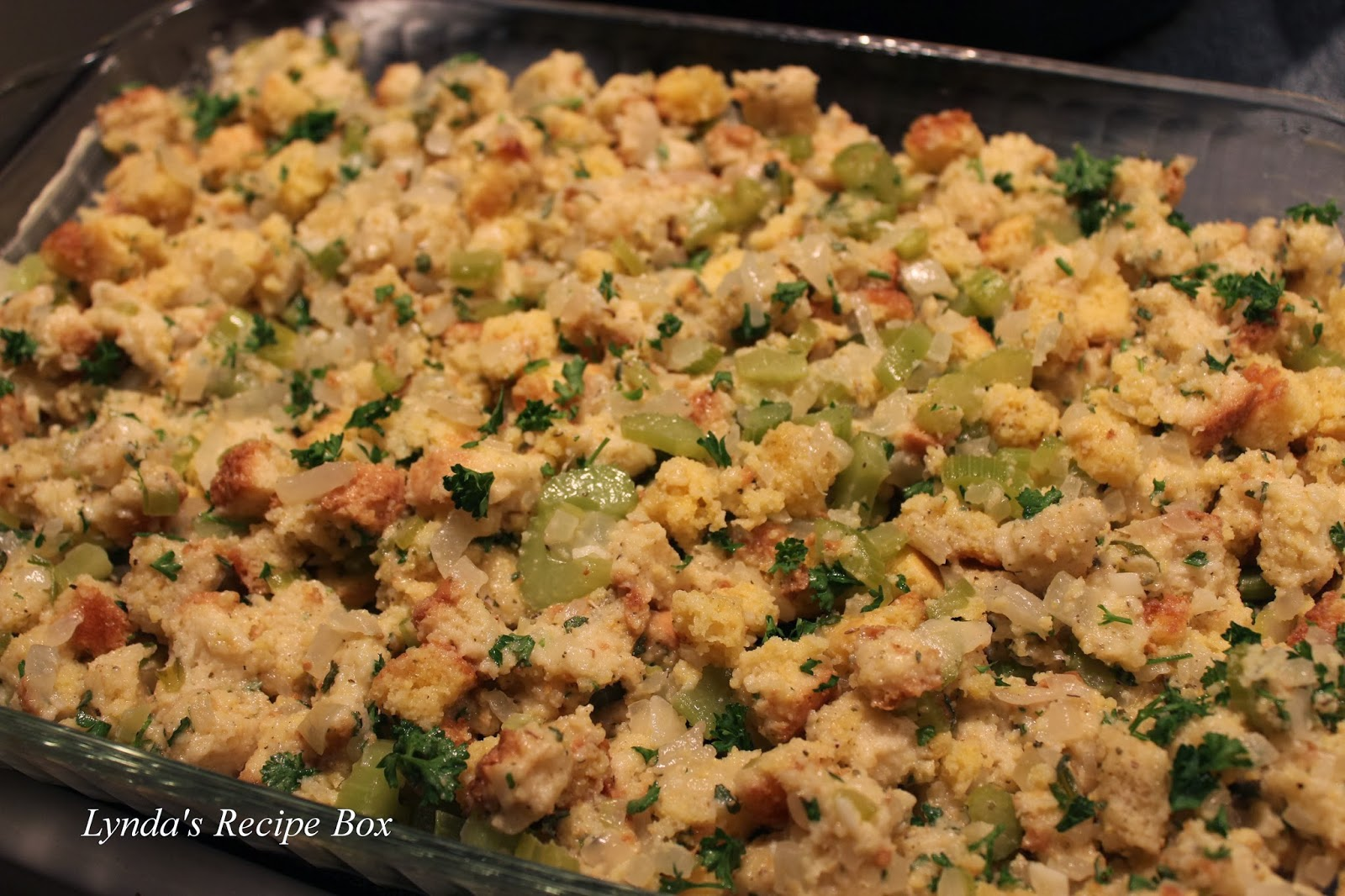 Lynda's Recipe Box: Sage Stuffing (or Dressing-whatever ...