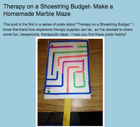 http://drzachryspedsottips.blogspot.com/2013/09/therapy-on-shoestring-budget-make.html