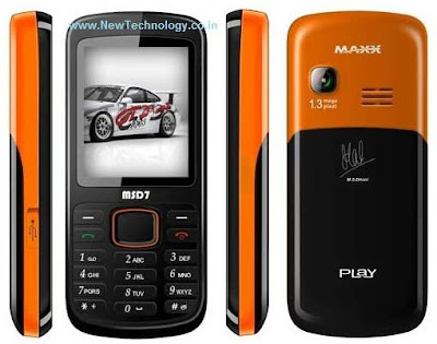 new Maxx MSD7 Mobile Phone