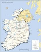 3 Peta negara Irlandiaireland map peta negara irlandia ireland map
