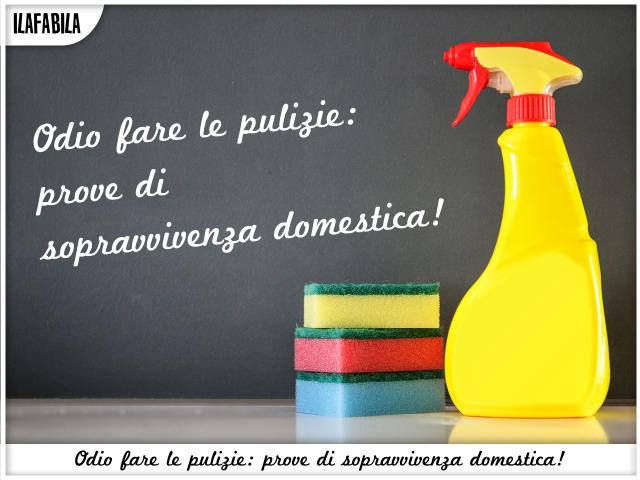 Odio fare le pulizie: prove di sopravvivenza domestica!