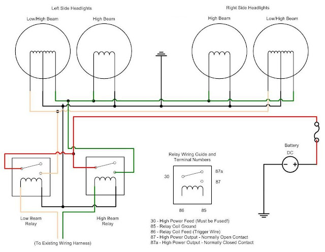 4 pin relay wiring diagram driving lights images narva 5 pin wiring diagram for 2007 dodge caliber automotive cat level 4design