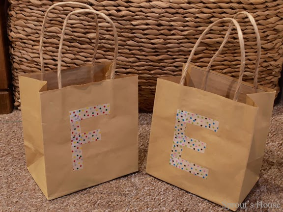 Easy Peasy Party Bags