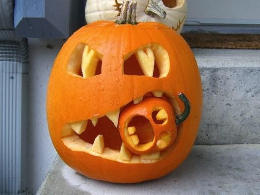 halloween ideas carving pumpkin