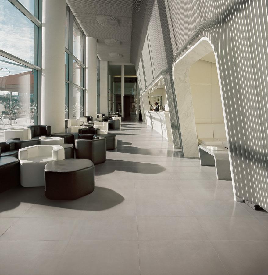 Awesome collezione building effetto cemento concrete beige for Progettazione del layout del pavimento