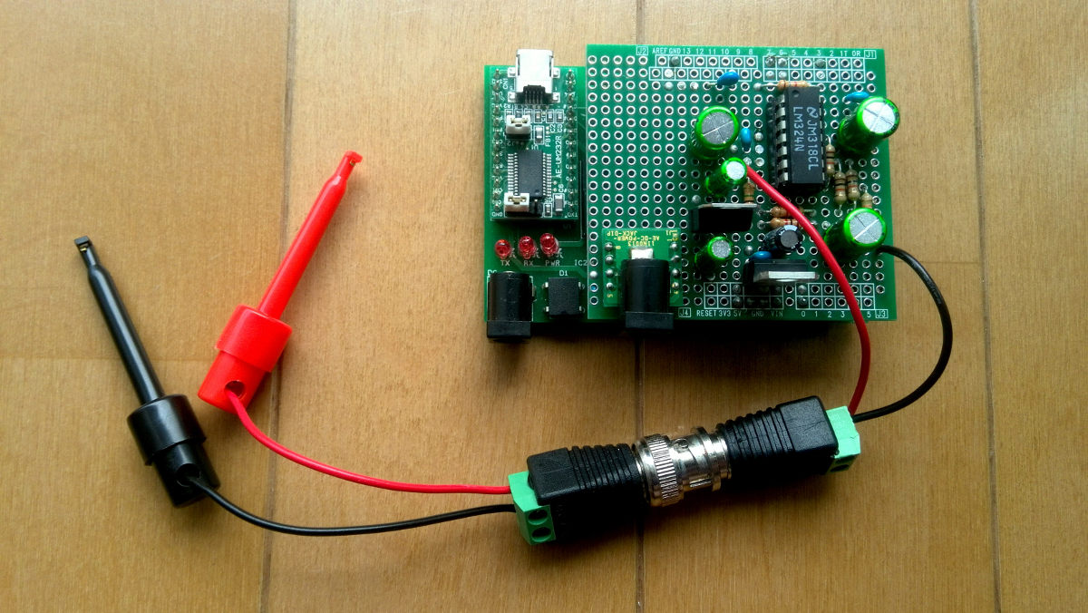 Sangorrin arduino oscilloscope
