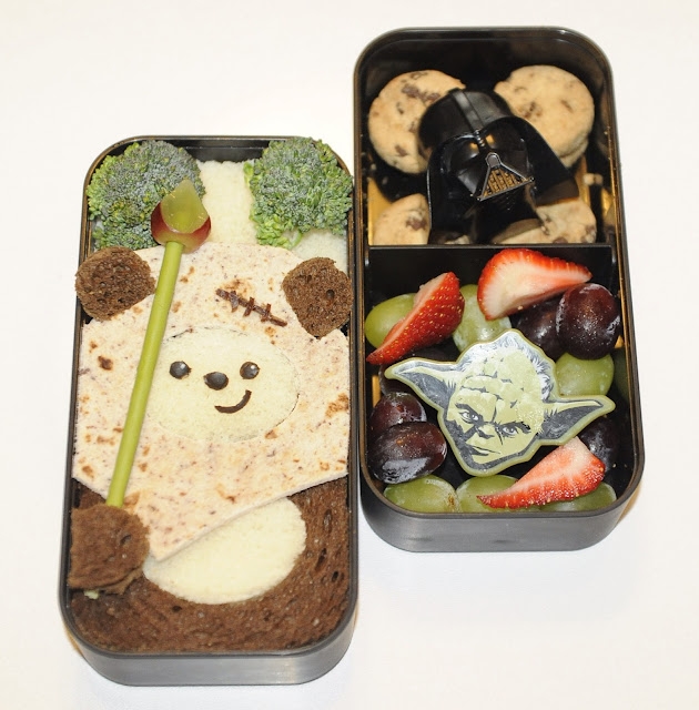 Star Wars Ewok bento
