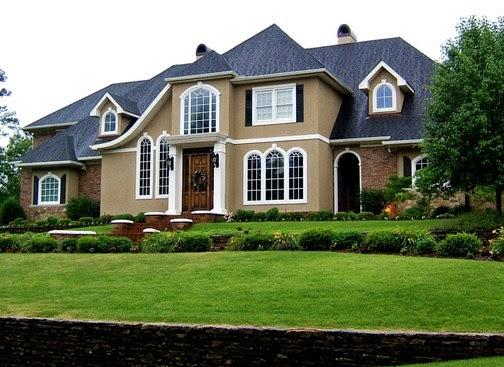 contoh warna eksterior rumah