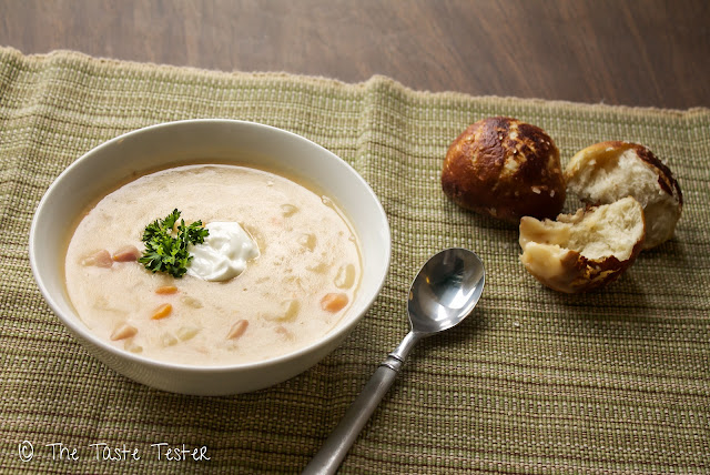 Crock Pot Ham and Potato Soup: A Weight Watchers Recipe