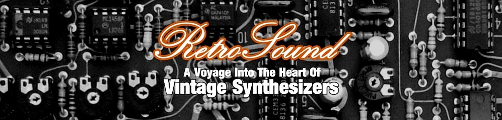 RetroSound  - Vintage Synthesizer Blog