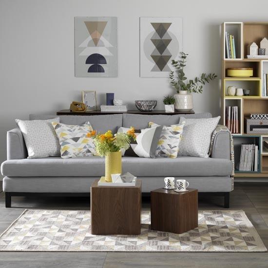 salon gris quebec salon blanc mur gris angle floriane lemari id e d co ne - Salon Gris Galet
