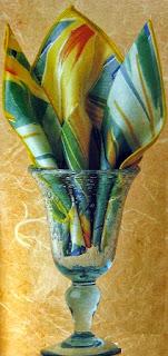 Doblar Servilletas Para Vasos, Paso a Paso, Estilo Petalos de Flor