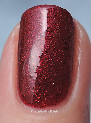 Two Birds Lacquer - Red Wine