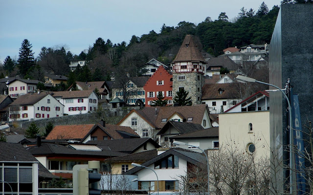 City Vaduz in Liechtenstein