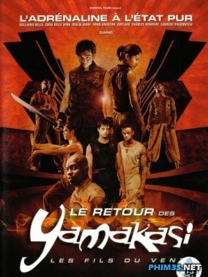 Những Đứa Con Của Gió - Yamakasi 2
