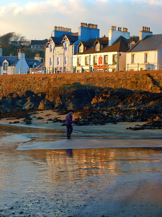 Portpatrick, beach, Rhinns of Galloway