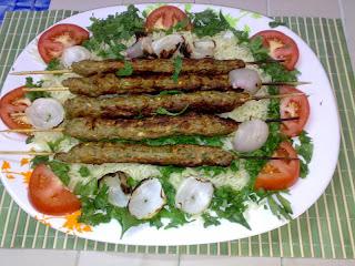 أطباق عيد الأضحى: الكباب المشوي