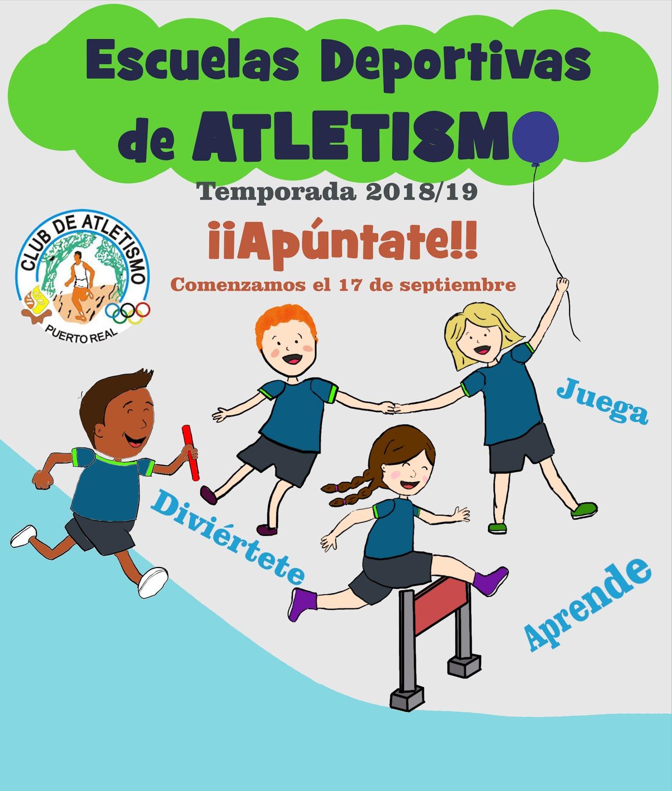 Escuelas de Atletismo 2018-2019