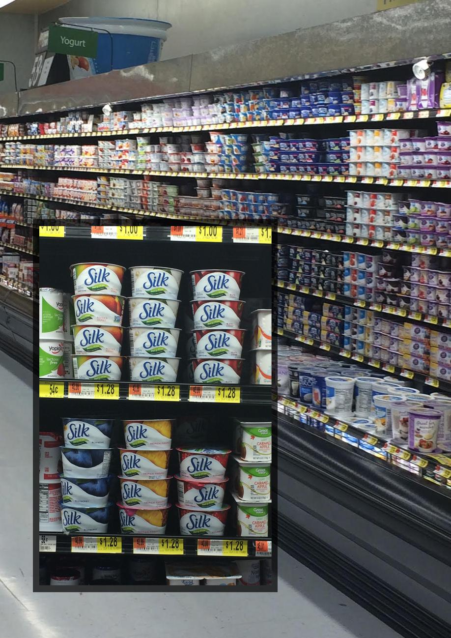 #dairyfree #silk #yogurt #walmart