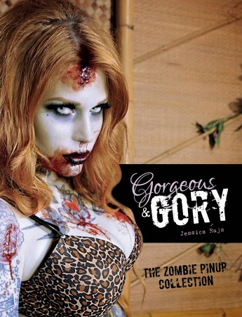 Enter the Gorgeous & Gory: The Zombie Pinup Collection Book Giveaway. Ends 10/31.