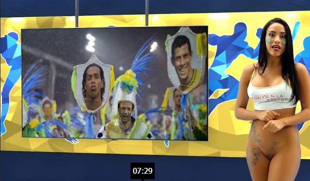 chicas desnudando la noticia el carnaval de brazil