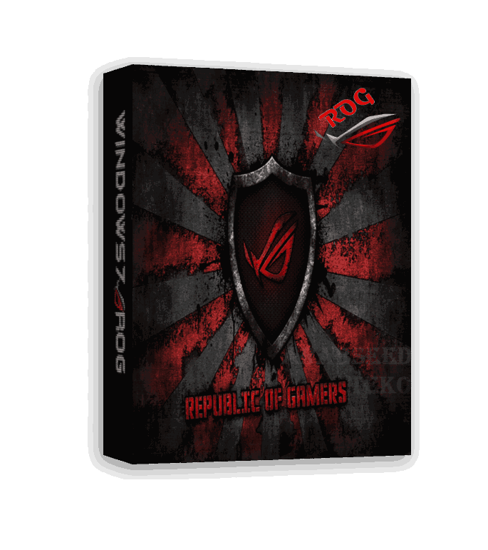 Windows 7 ROG Rampage 64-Bit for Gamers Rogsample