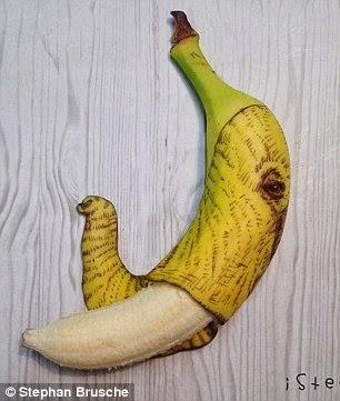 رأس فيل على الموز