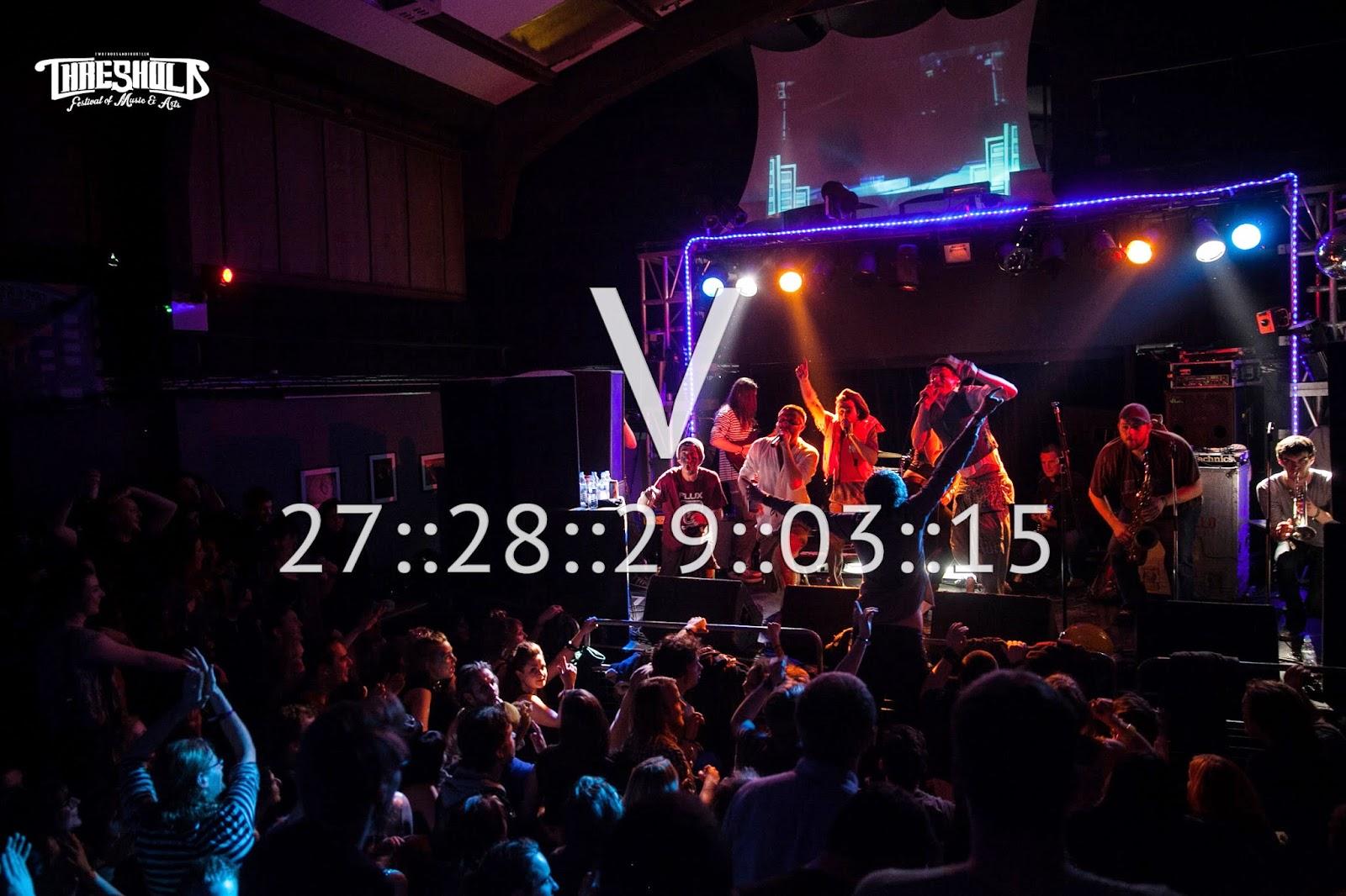 Threshold V Festival Liverpool March 2015