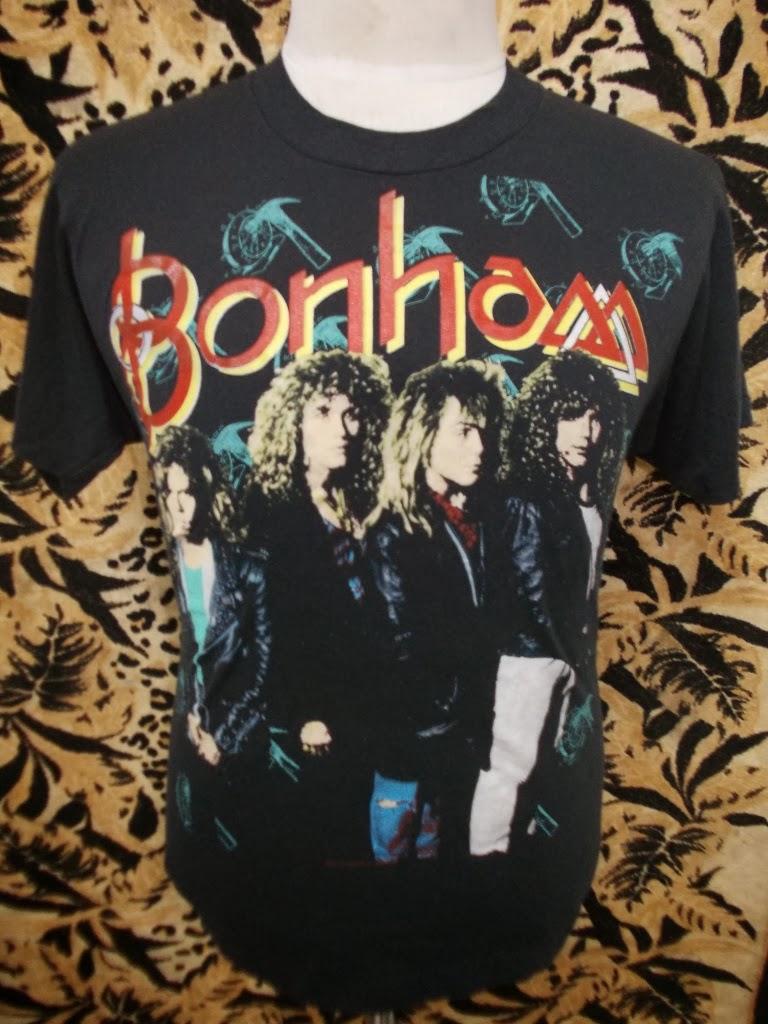 VTG BONHAM 1989 TOUR T-SHIRT