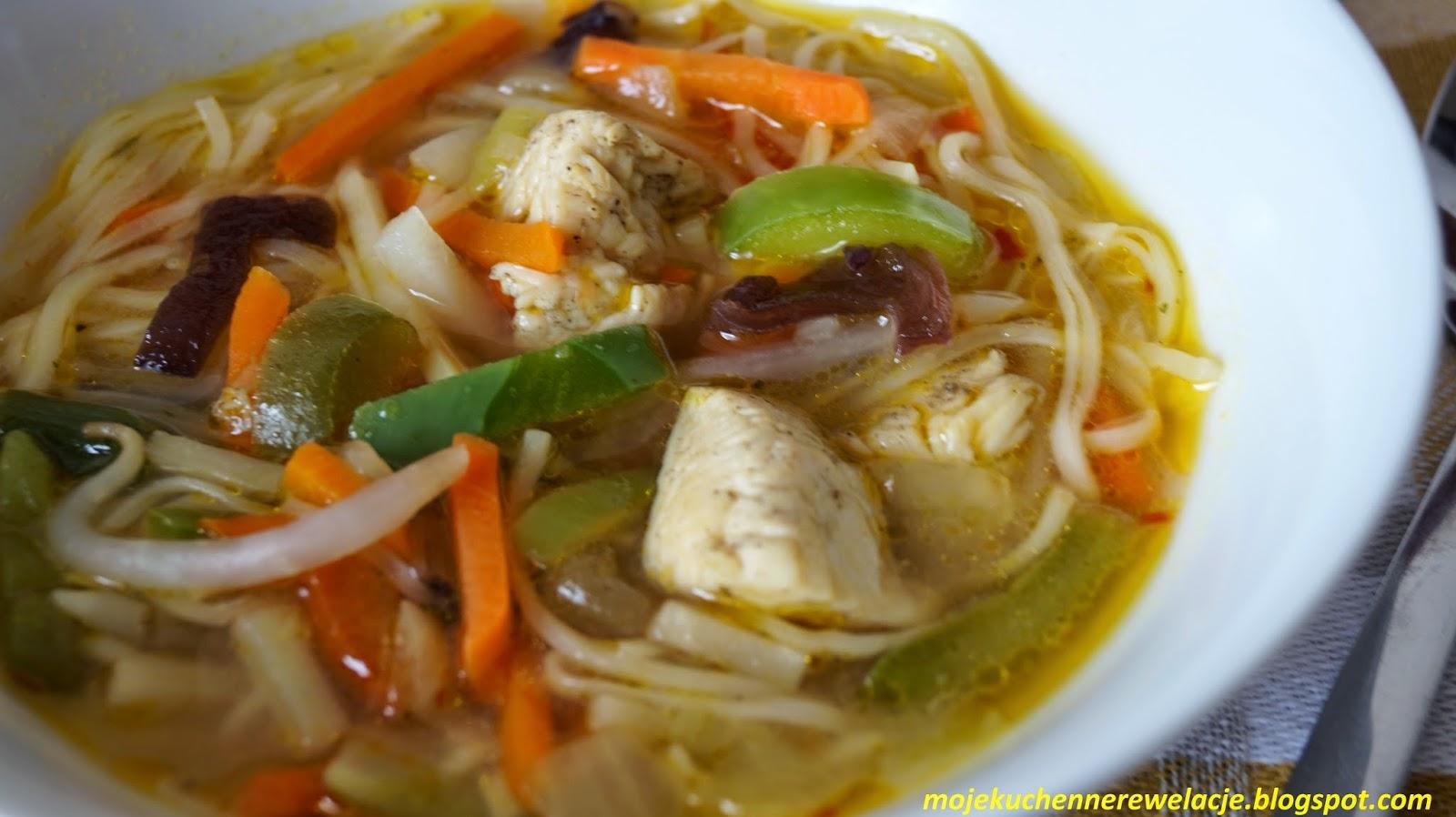 zupa słodko-pikantna