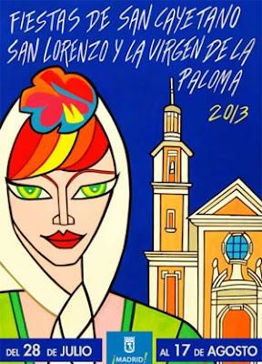 Cartel Oficial de las Fiestas de San Cayetano, San Lorenzo y La Paloma