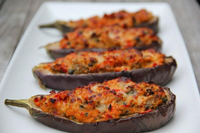 Gevulde aubergine - www.desmaakvancecile.com
