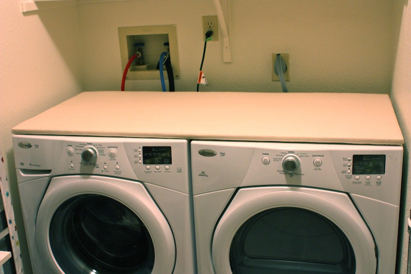 Folding Laundry Table Over Washer And Dryer